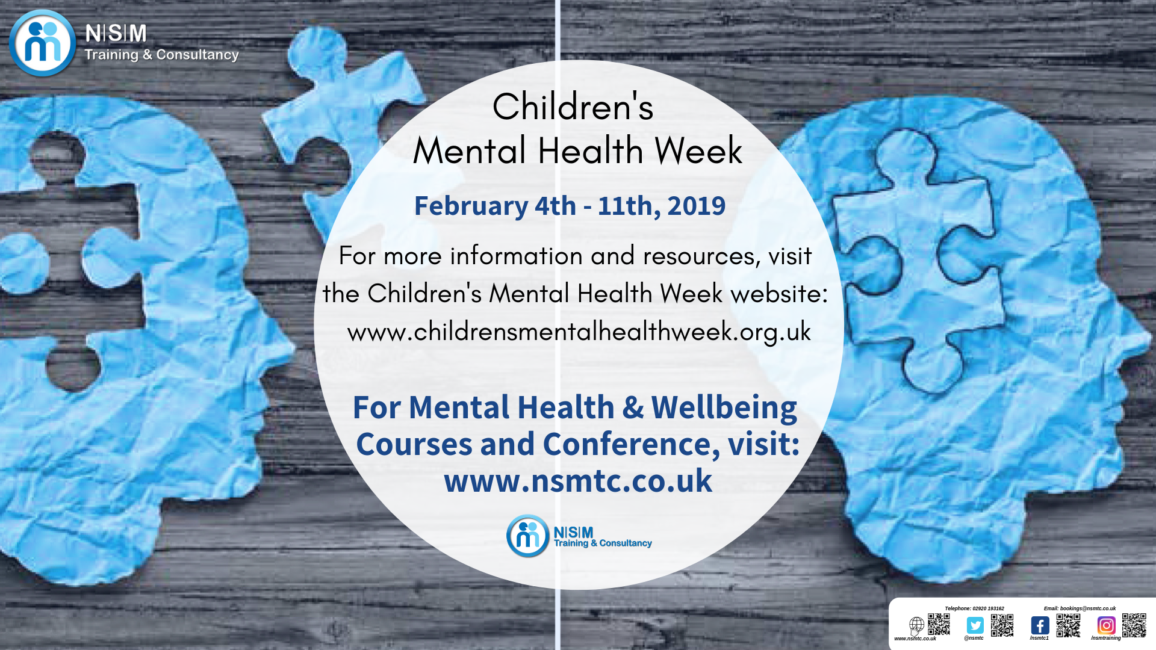 Children's Mental Health Week, 4 -10 February 2019