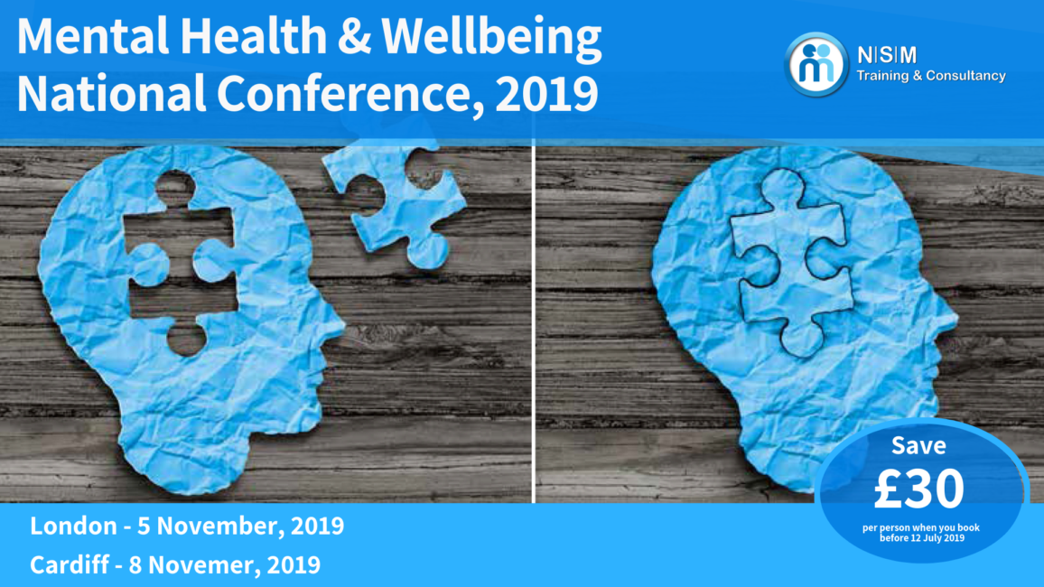 Mental Health & Wellbeing National Conference, 2019
