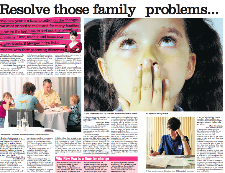 Resolve those family problems… with Nicola S Morgan