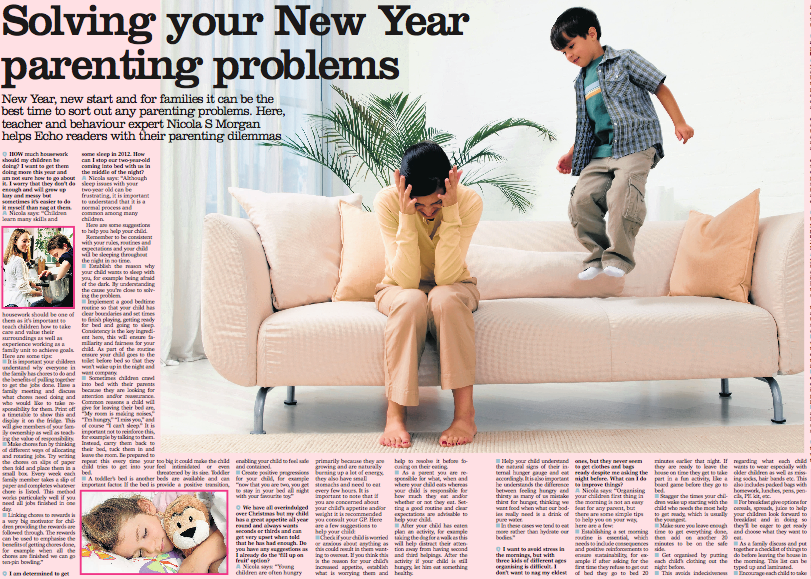 Solving your New Year parenting problems with Nicola S Morgan